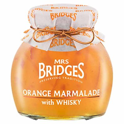 Orange Marmalade with Whisky Mrs Bridges 340g