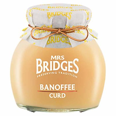 Banoffee Curd Mrs Bridges 340g