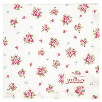 GreenGate Abigail table cloth 100x100 cm