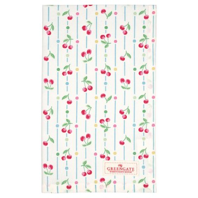 GreenGate Cherry tea towel