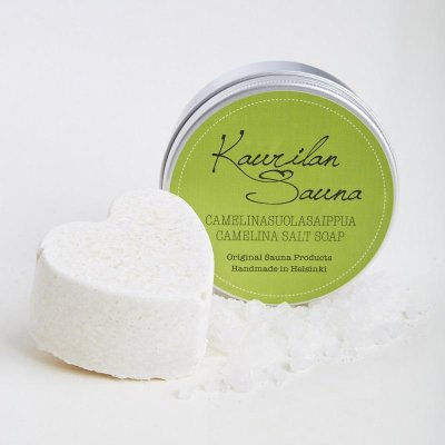 Camelina salt soap vegan