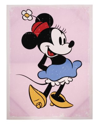 Canvas Minnie Mouse