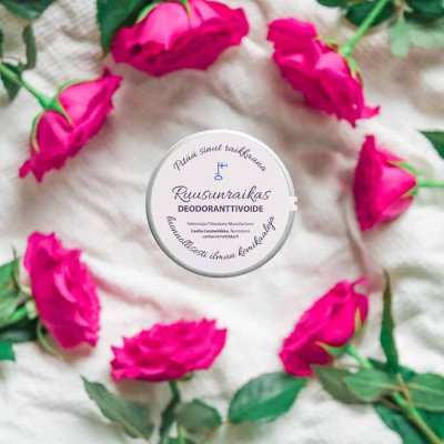 Deodorant cream Rose fresh