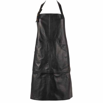 Apron Leather Black