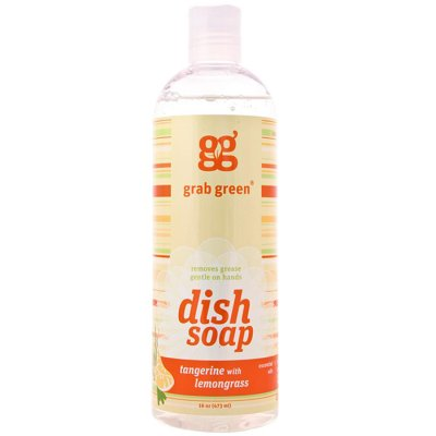 Dish soap Tangerine and lemongrass