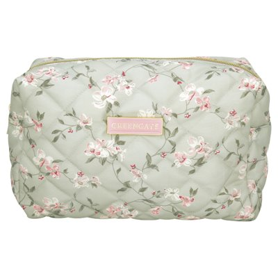 GreenGate cosmetics bag Jolie L pale mint