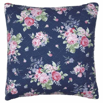 9c1c4c5878b61 GreenGate Rose cushion cover big dark blue