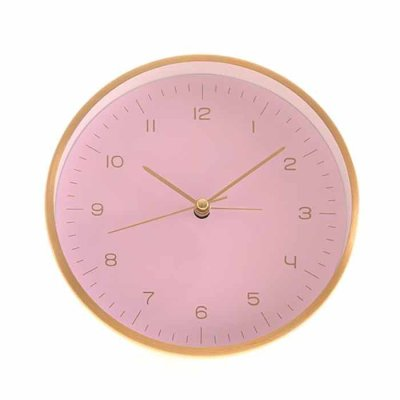 Alarm clock pink/gold
