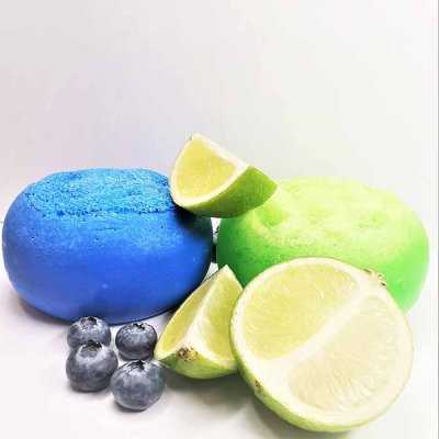 Massage Sponge Lime Grapefruit