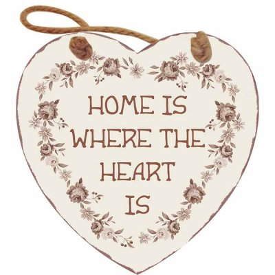 Heart sign Home is 15 cm