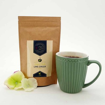 Flavored Tea Lime Ginger 100 g