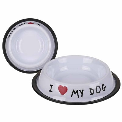 Food bowl I love my dog