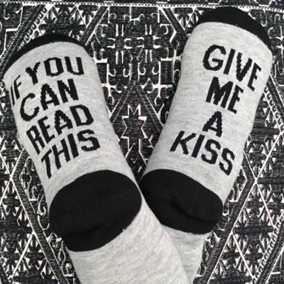 Socks Give Me Kiss