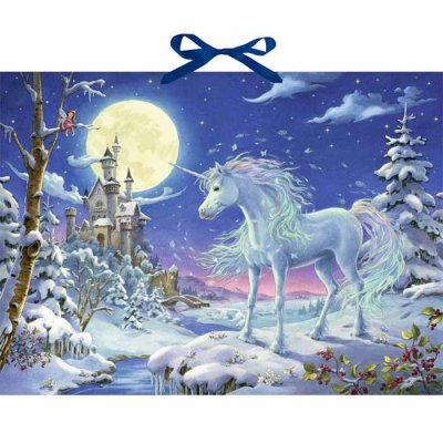 Christmas calendar Unicorn in the magic forest