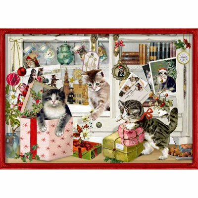 Christmas calendar Cats with gifts