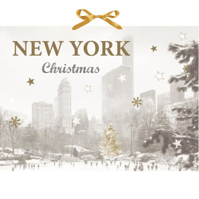 Christmas calendar New York Christmas