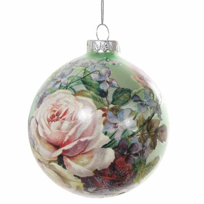 Christmas decoration Roses 10 cm