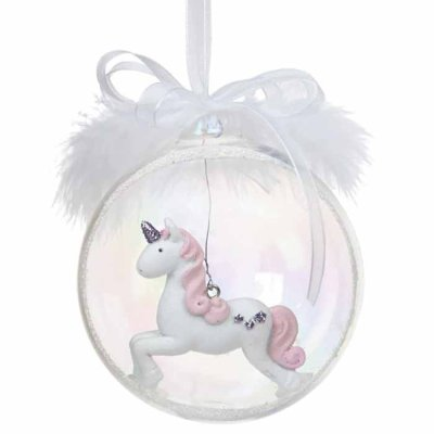 Christmas decoration ball unicorn big
