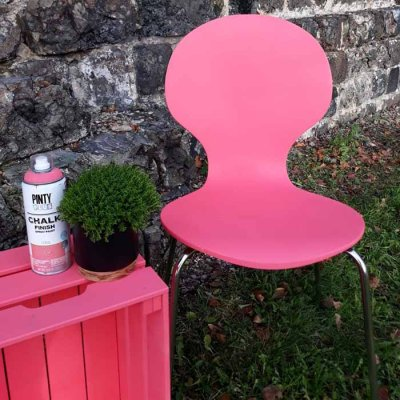 Chalk paint spray Coral
