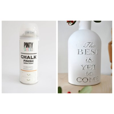 Chalk paint spray Broken White