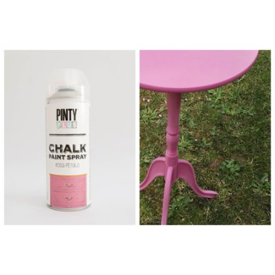 Chalk paint spray Pink petal
