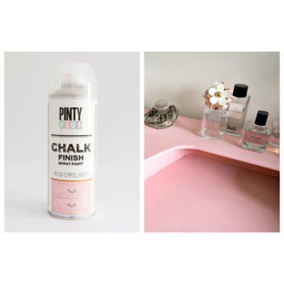 Chalk paint spray Rose garden