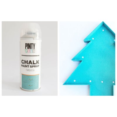 Chalk paint spray Turquoise