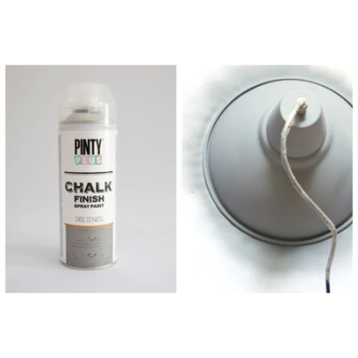 Chalk paint spray Ash grey