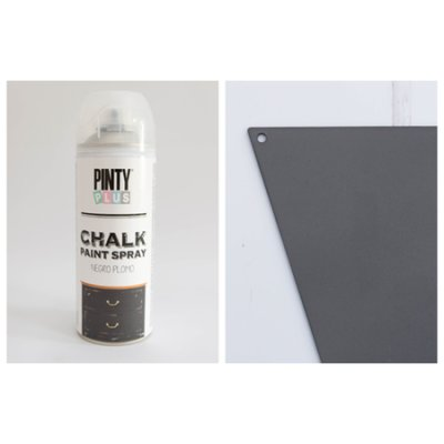 Chalk paint spray Black plumb