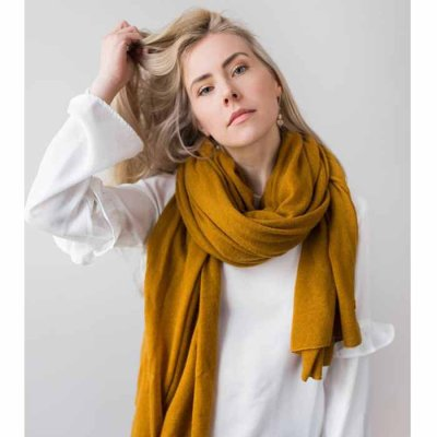 Cashmere Scarf Moss