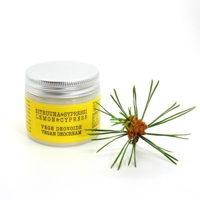 Deocreme vegan Lemon & Cypress