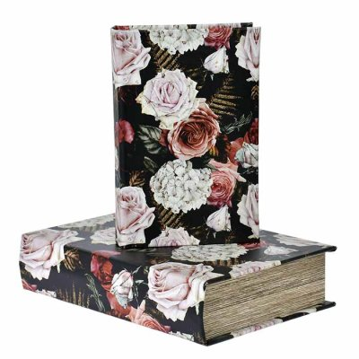 Box book shaped Roses, different sizes