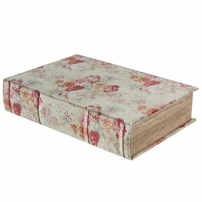 Box book shaped Old roses