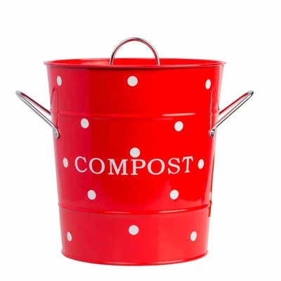 Compost bin red