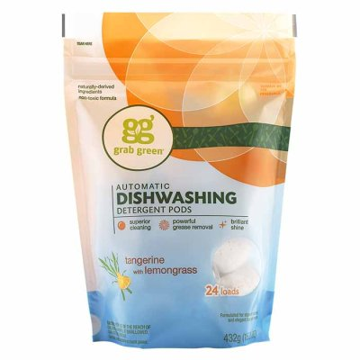 Dishwashing detergent pods Tangerine with lemongrass