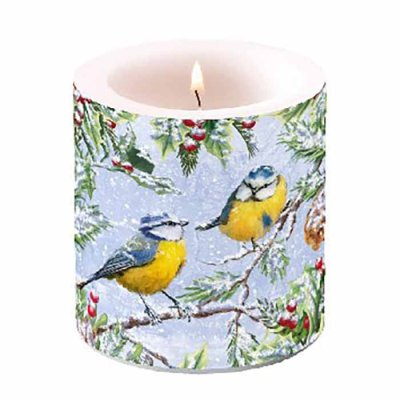 Candle Chirping Birds 10 cm