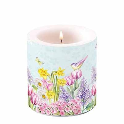 Candle Blooming Garden  10 cm