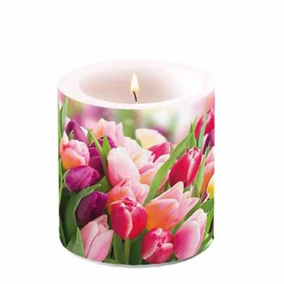 Candle Glorious Tulips  10 cm
