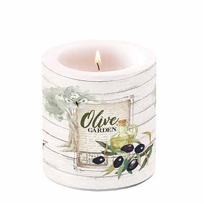 Candle Olive Garden  10 cm