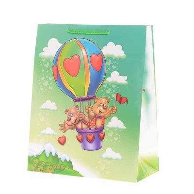 Gift bag teddy bears 32 cm