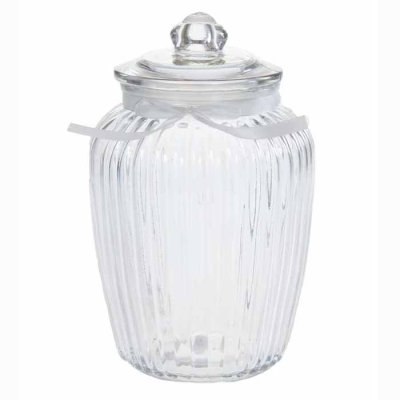 Glass jar 24 cm