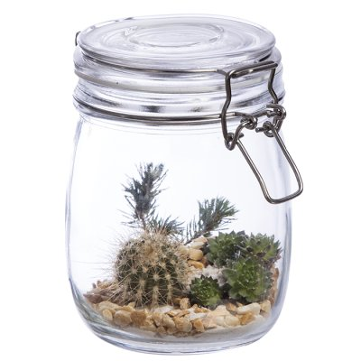 Glass jar 23,5 cm