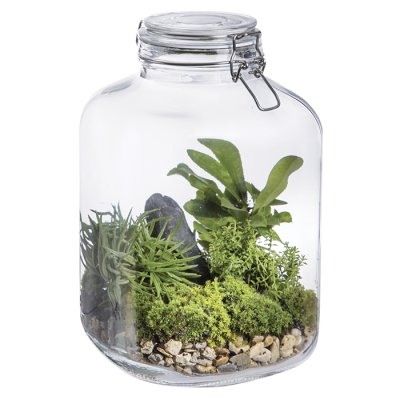 Glass jar 27 cm