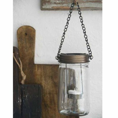 Tealight holder Vintage with chain