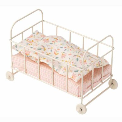 Maileg baby cot, metal
