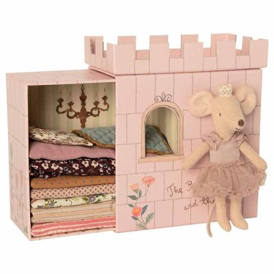 Maileg Princess mouse and the pea playset