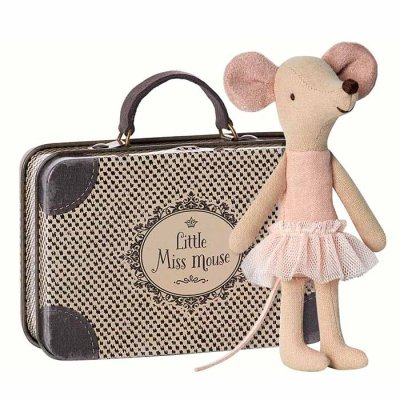 Maileg mouse big sister Ballerina in suitcase