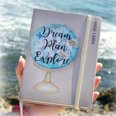 Travel Diary Dream Plan Explore