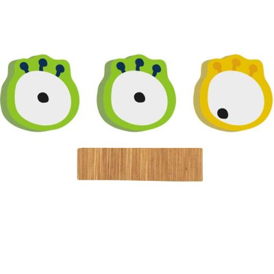 Monster Eyes for bamboo letters