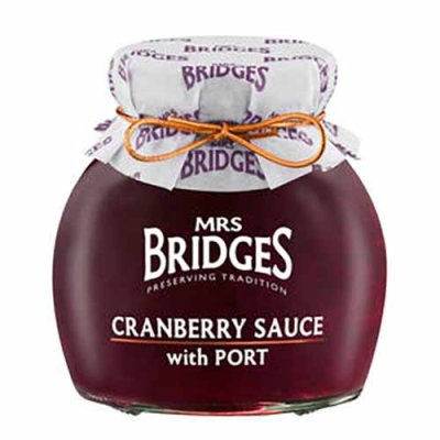 Cranberry Sauce w. Port Mrs Bridges 340g
